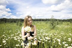 Young Woman Outdoors Royalty Free Stock Photo