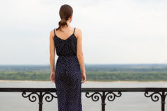Young woman outdoors Stock Image