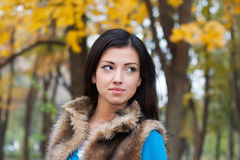 Young woman in park Royalty Free Stock Photos