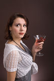 Young woman. party 1 Royalty Free Stock Photography