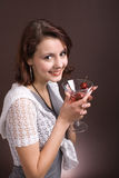 Young woman. party 2 Royalty Free Stock Photos