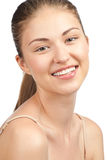 Young woman with perfect healthy skin Royalty Free Stock Photo