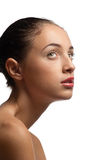 Young woman with perfect skin Royalty Free Stock Image
