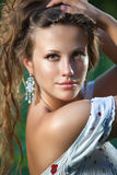 Young woman portrait. Royalty Free Stock Photography