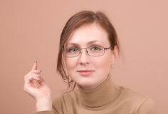 Young woman portrait Royalty Free Stock Photos