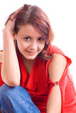 Young woman. portrait 4 Royalty Free Stock Images