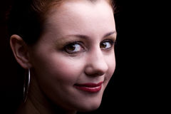 Young woman. portrait Stock Photo