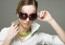 Young woman portrait Stock Photo