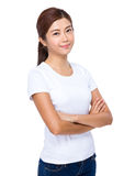 Young Woman portrait Stock Image