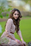 Young woman portrait outdoor Royalty Free Stock Photo