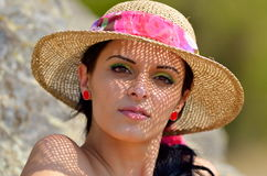 Young woman portrait Royalty Free Stock Photography