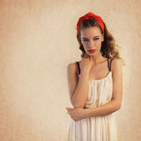 Young woman portrait Royalty Free Stock Image