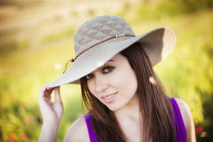 Woman portrait Stock Images