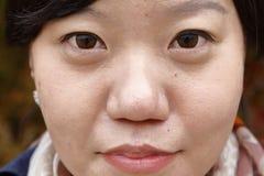 Young woman poses - South Korea, National Capital Area, Seoul - NOVEMBER 2013 Stock Photo