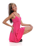 YOung Woman Posing Stock Photo