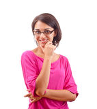 Young woman posing Stock Image