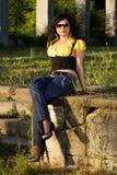 Young woman posing Royalty Free Stock Photos