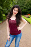 Young woman posing Royalty Free Stock Photo