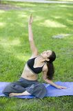 Young woman practicing Yoga Royalty Free Stock Photo