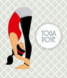 Young woman practicing yoga Royalty Free Stock Image
