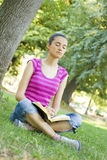 Young woman praying Royalty Free Stock Photography