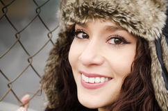 Young woman with pretty smile Stock Photography