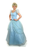 Young Woman in Princess Costume Stock Images