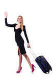 Young woman ready for summer vacation Royalty Free Stock Photo