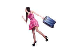 Young woman ready for summer vacation Royalty Free Stock Photography