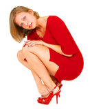 Young Woman In Red Royalty Free Stock Image