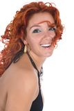 Young woman with red hair Stock Photography