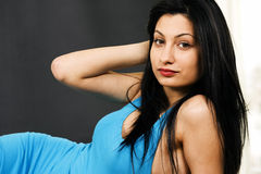 Young woman in relaxed pose Royalty Free Stock Image
