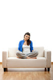 Young woman relaxing Royalty Free Stock Photo