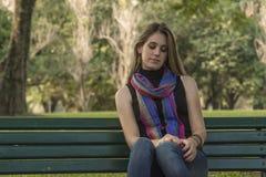 Young woman relaxing Stock Photos