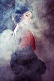 Young woman in retro syle Royalty Free Stock Photos