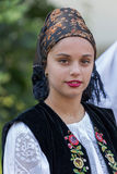 Young woman from Romania in traditional costume 10 Stock Image