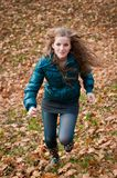 Young woman runing Royalty Free Stock Photography