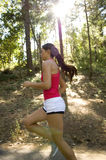 Young woman runner Royalty Free Stock Photo