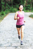 Young woman runner outside Royalty Free Stock Photo