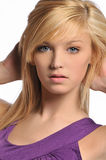 Young woman's portrait Stock Photography