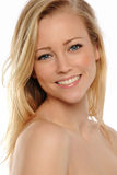 Young Woman's portrait smiling Royalty Free Stock Image