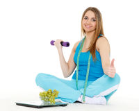 Concept of healthy lifestyle. Stock Photography
