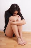 Young woman with scars from self-harm Stock Photos