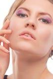 Young woman with seductive makeup Stock Photos