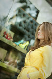 Young  woman shopping Stock Photo