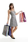 Young woman with shopping bags Royalty Free Stock Photography