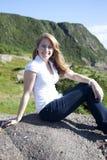 travel adventure woman  Stock Photos
