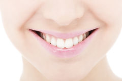 Young woman smile Stock Images