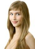 Young woman smile Stock Photos
