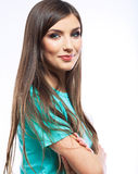 Young woman smile Royalty Free Stock Photography